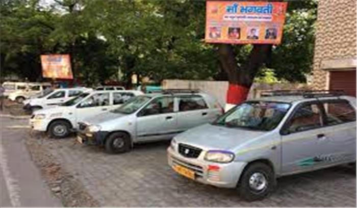 राज्य के लोगों और पर्यटकों की बढ़ी मुसीबतें, आज से थम गए कुमाऊं मंडल में 25 हजार टैक्सियों के पहिए