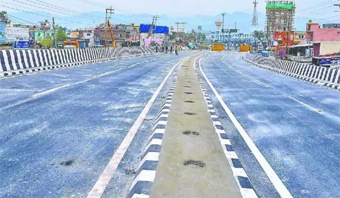 अजबपुर फ्लाइओवर जनता के लिए खुला , अब हरिद्वार जाने वाले को नहीं जूझना पड़ेगा जाम से