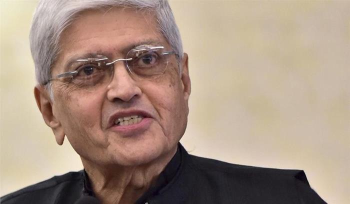विपक्ष ने उप-राष्ट्रपति चुनाव के लिए महात्मा गांधी के पोते गोपाल कृष्ण गांधी को बनाया अपना उम्मीदवार