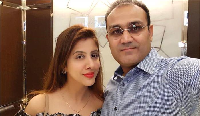 वीरेंद्र सहवाग की पत्नी आरती के साथ बिजनेस पार्टनर ने की धोखाधड़ी , ईओडब्ल्यू सेल में शिकायत दर्ज