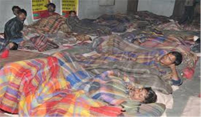 दिल्ली में ठंड से पिछले 17 दिनों में 109 की मौत , पिछले 24 घंटे में 7 बेघरों ने भी तोड़ा दम