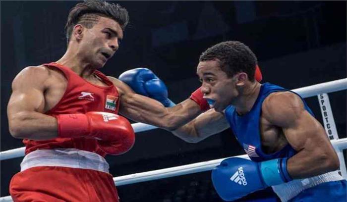 विश्व बॉक्सिंग चैंपियनशिप के सेमिफाइनल में हारे भारतीय मुक्केबाज गौरव बिधुड़ी, कांस्य पदक मिला