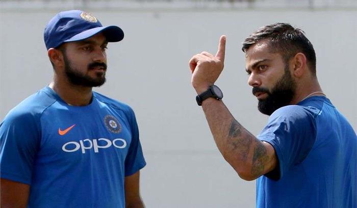 Breaking News- टीम इंडिया को फिर झटका , विजय शंकर विश्वकप से बाहर, मयंक अग्रवाल जुड़ सकते हैं टीम से
