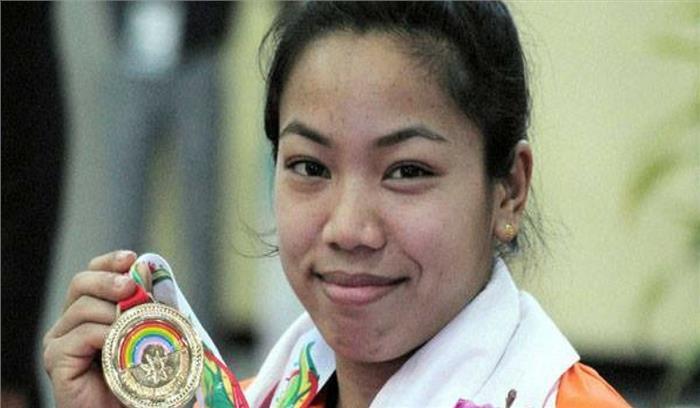 अमेरिका में वर्ल्ड वेटलिफ्टिंग चैंपियनशिप में मीराबाई चानू ने 22 साल बाद लहराया परचम, 194 किलोग्राम भार उठाकर जीता स्वर्ण