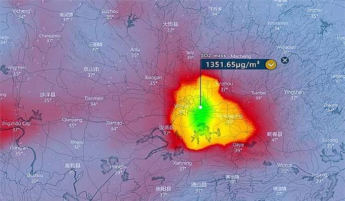 चीन ने वुहान शहर में हजारों लोगों के शव जलाने का शक , सैटेलाइन तस्वीरों में आग के गोले नजर आए