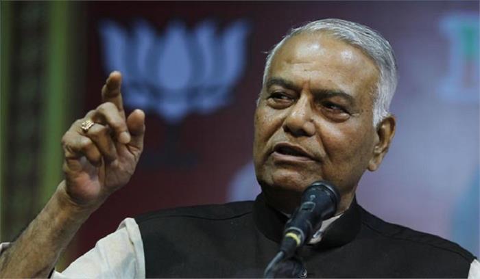 भाजपा के नेता यशवंत सिन्हा अकोला में गिरफ्तार, केन्द्र की नीतियों का विरोध कर रहे थे