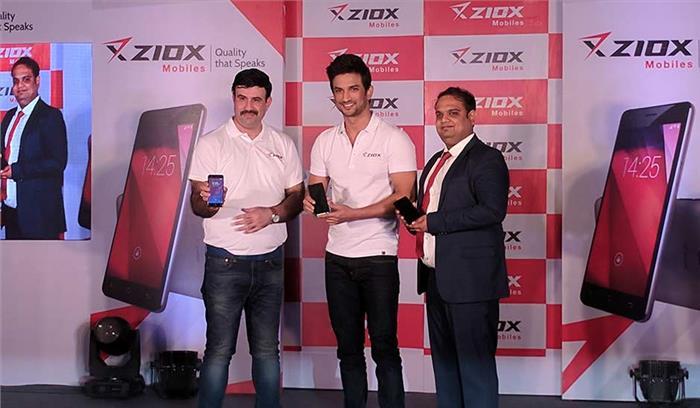 सुशांत राजपूत बने Ziox Mobile के ब्रांड एंबेस्डर, कंपनी ने लॉच किया अपना स्मार्टफोन Ziox Duopix
